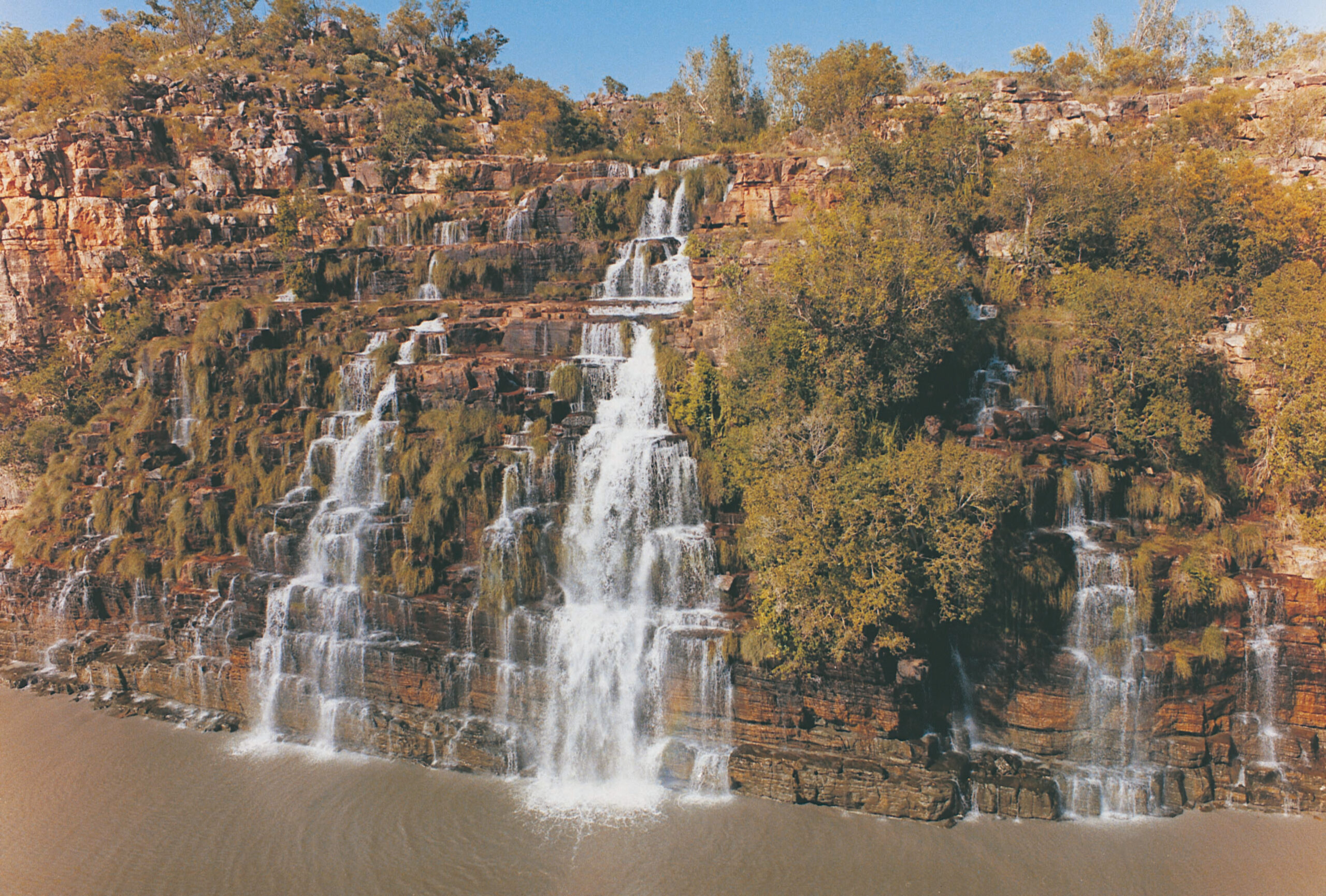YOTSPACE superyacht voyages - Kimberley voyages - King Cascade waterfall - Prince Regent River