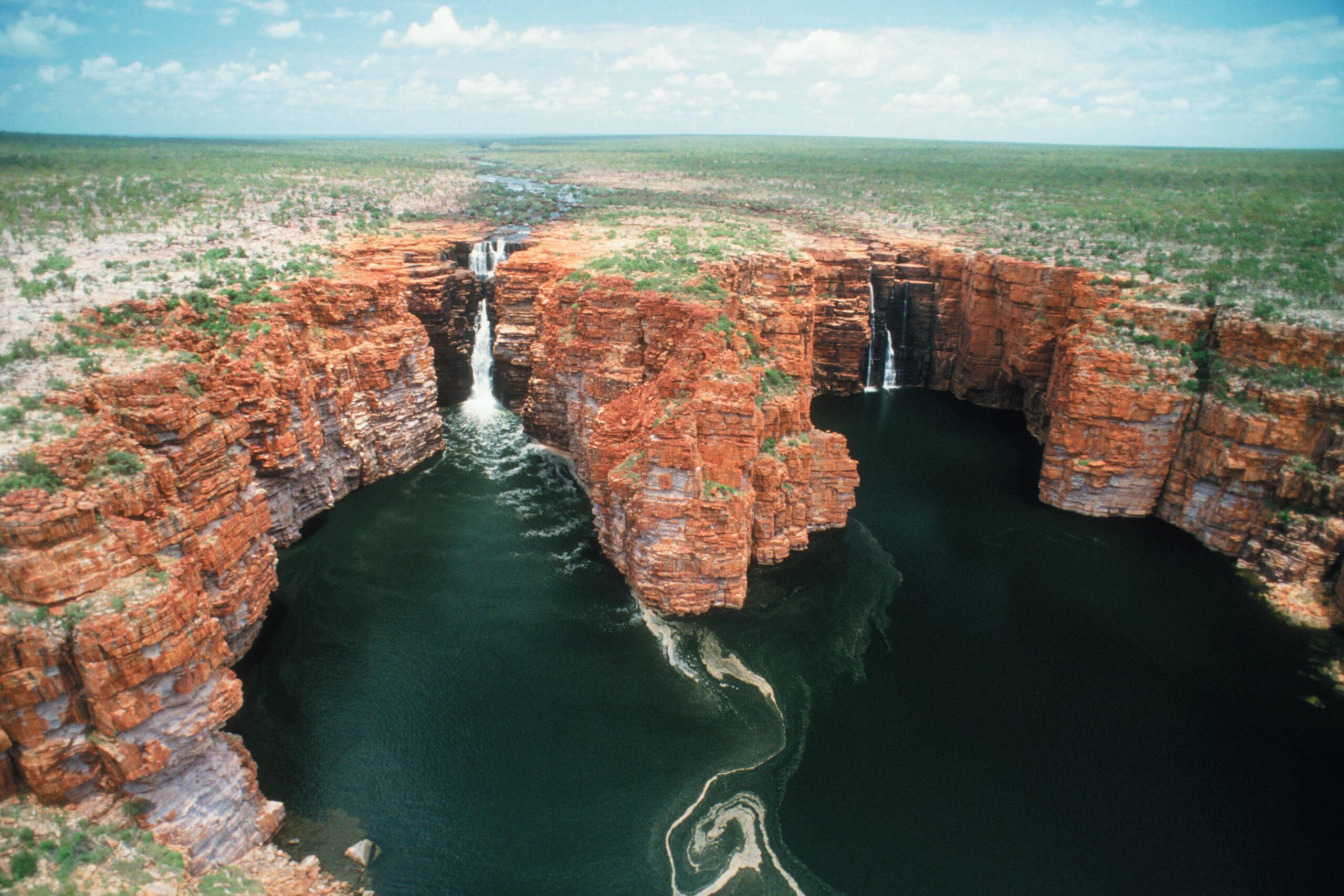 YOTSPACE superyacht voyages - Kimberley voyages - King George Falls