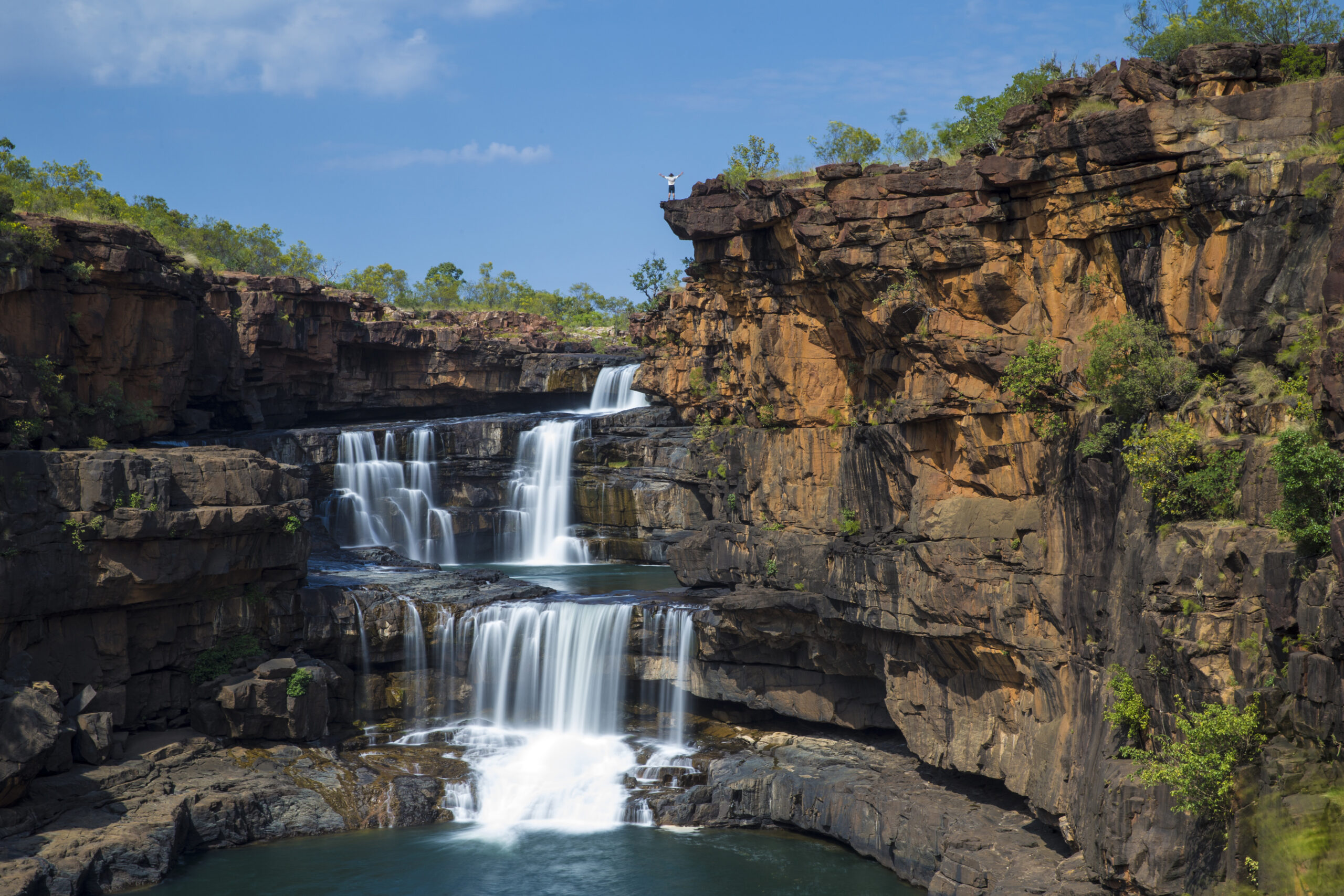 YOTSPACE superyacht voyages - Kimberley voyages - Mitchell Falls - Mitchell River National Park