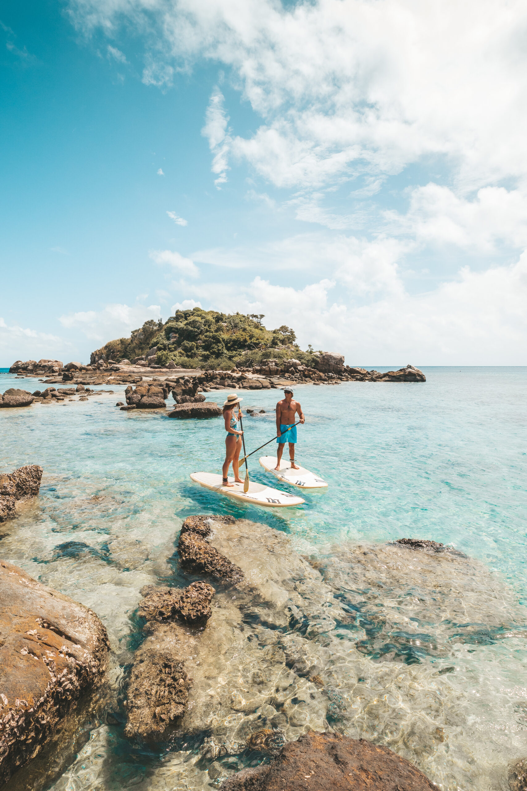 YOTSPACE superyacht voyages - Lizard Island - Stand Up Paddle Boarding