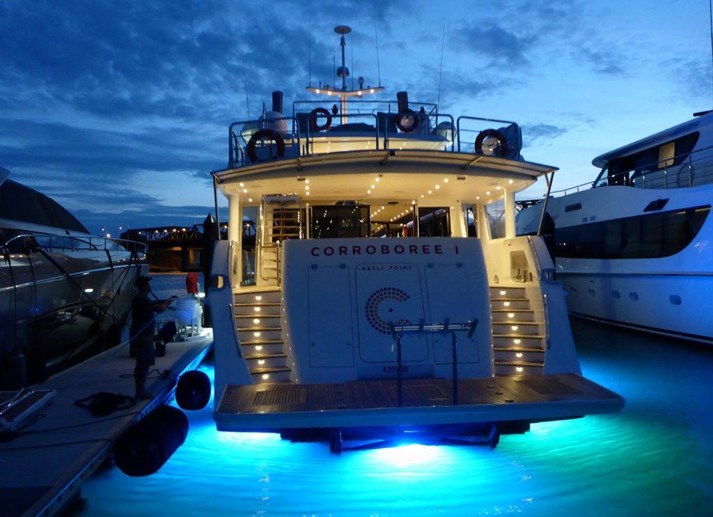 YOTSPACE - Superyacht Voyages - Sunset on Corroboree
