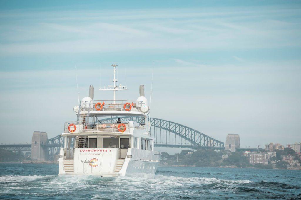 YOTSPACE superyacht voyages - Sydney Harbour