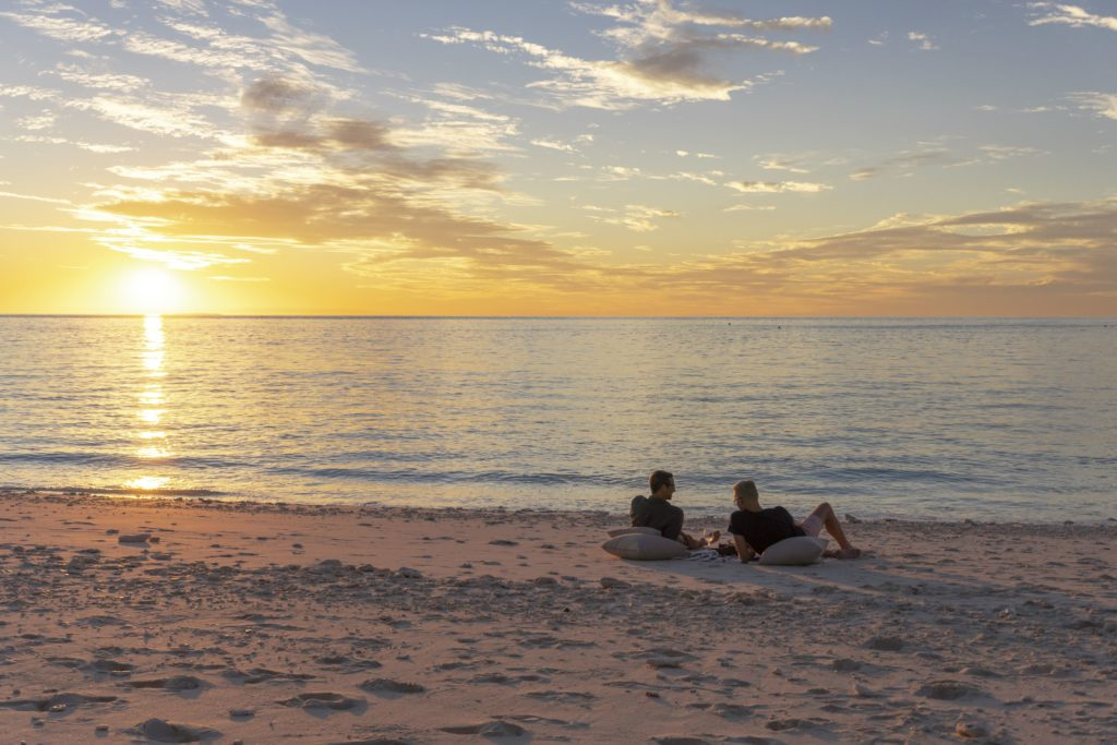 YOTSPACE - Superyacht Voyages - Sunset on Remote Beaches