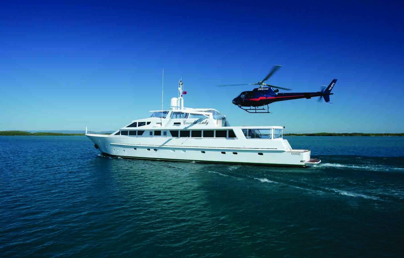 Port Douglas to Lizard Island Return – Exploration Voyage – 5 Nights Superyacht – Emerald Lady