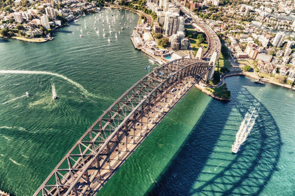 YOTSPACE superyacht voyages - Sydney Habour Bridge