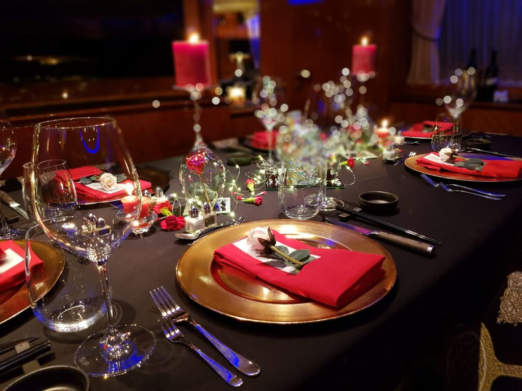 YOTSPACE - Superyacht Voyages - Lady Pamela - Fine Dining