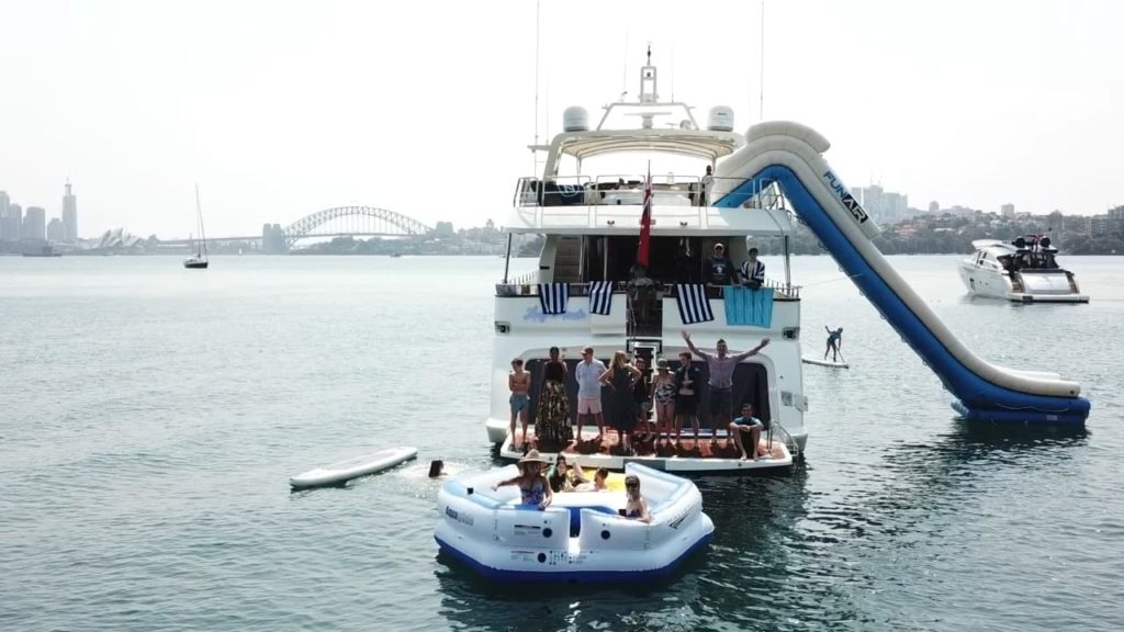 YOTSPACE - Superyacht Voyages - Lady Pamela Slide