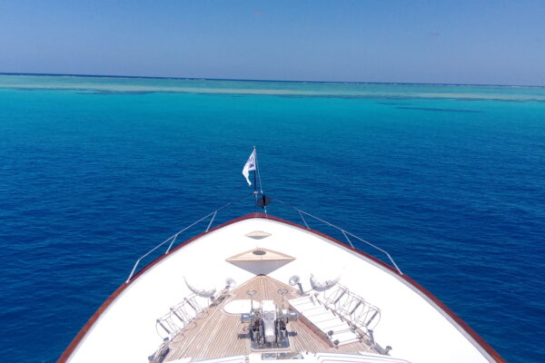 YOTSPACE superyacht voyages Great Barrier Reef - Phoenix One