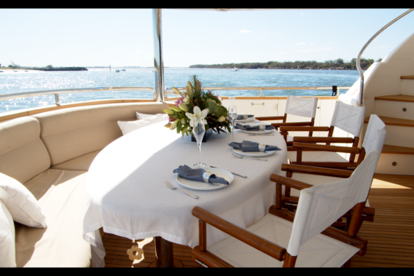 YOTSPACE superyacht voyages - MY Triple888 - All Inclusive Gourmet Dining