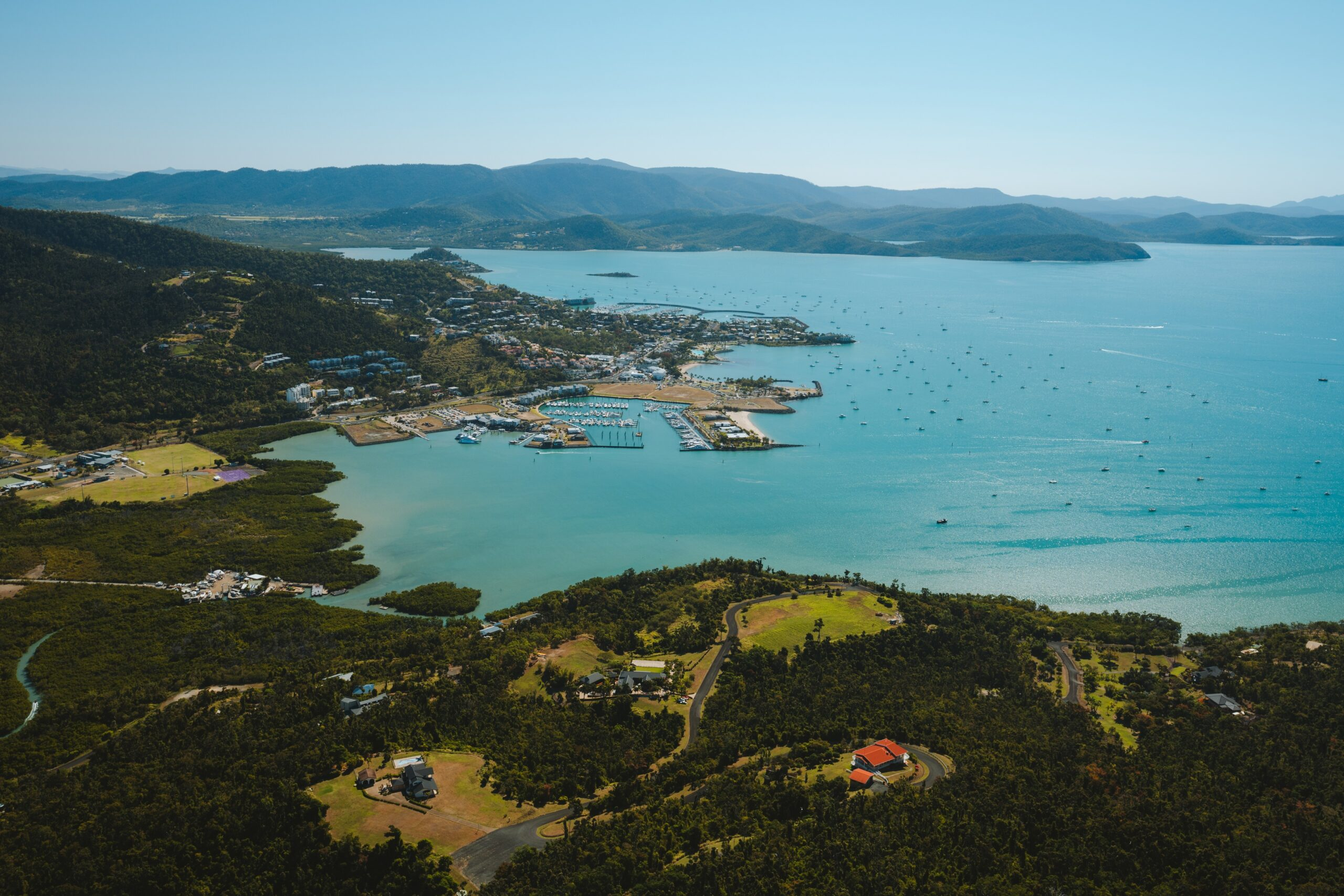 YOTSPACE superyacht voyages - Aerial View Airlie Beach