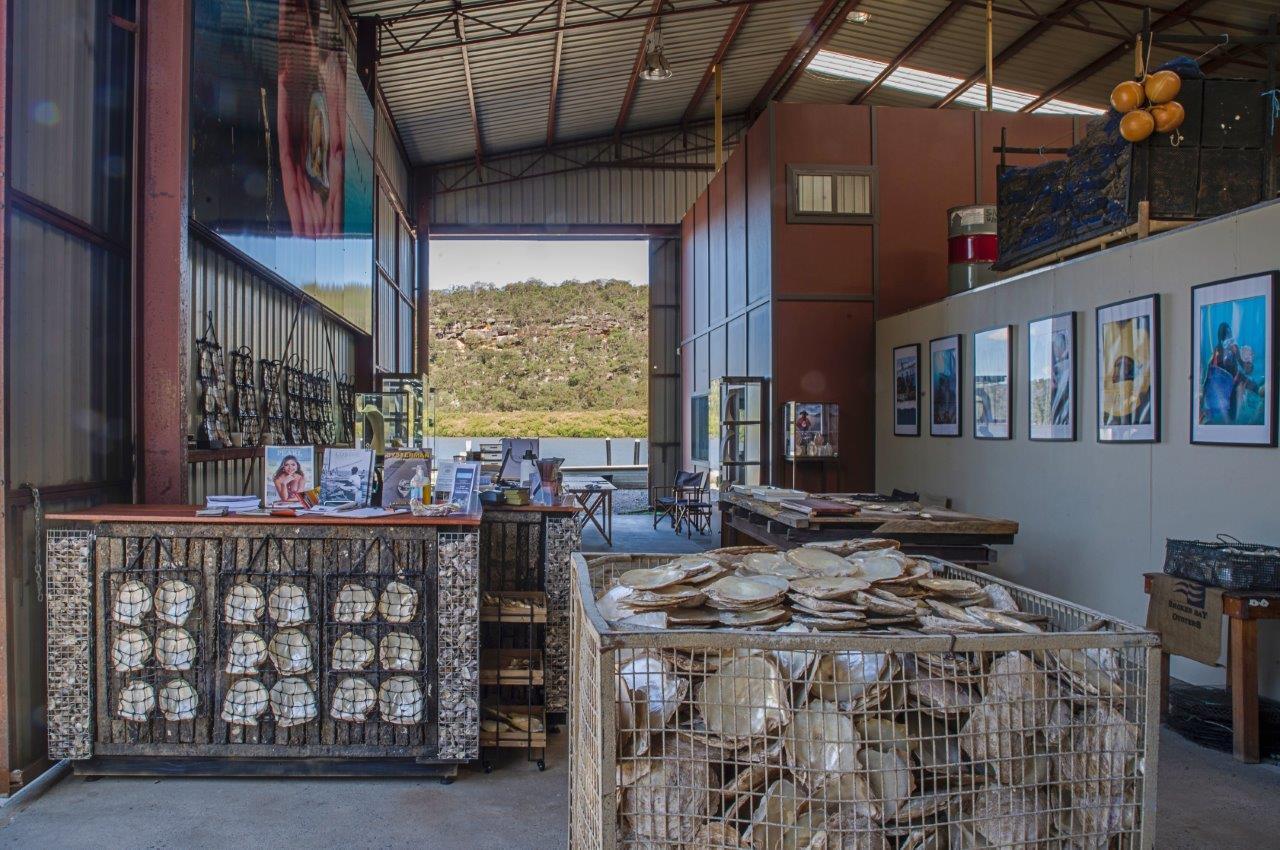 Broken Bay Pearl Farm_ Shellar Door