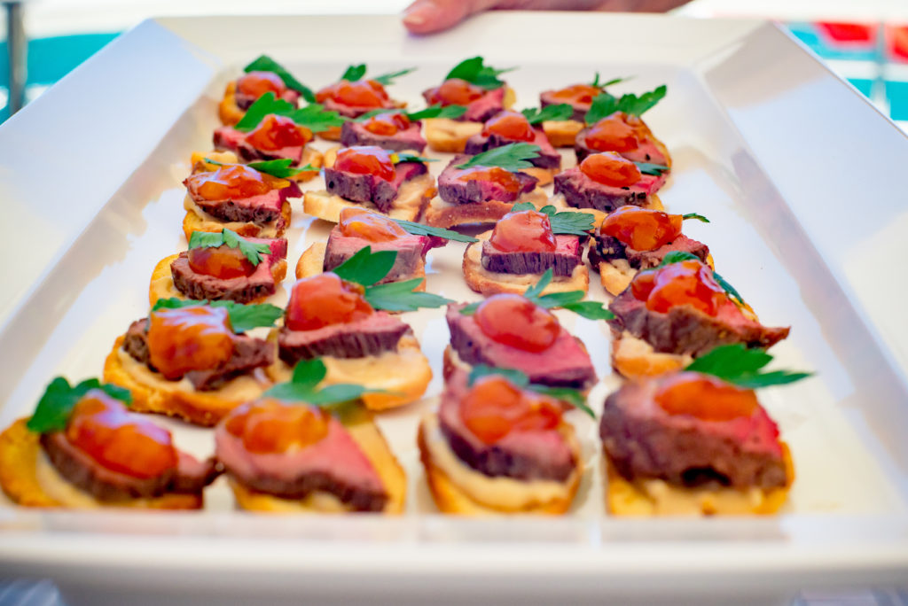 YOTSPACE superyacht voyages Great Barrier Reef - Phoenix One - Canapes