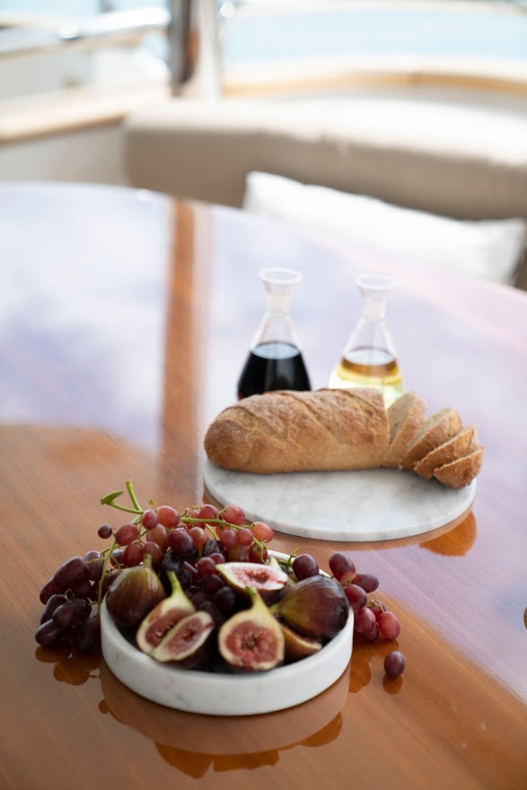 YOTSPACE superyacht voyages - All Inclusive gourmet dining