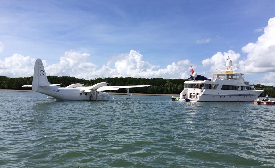 YOTSPACE superyacht voyages - Kimberley voyages - Mallard Float Plane