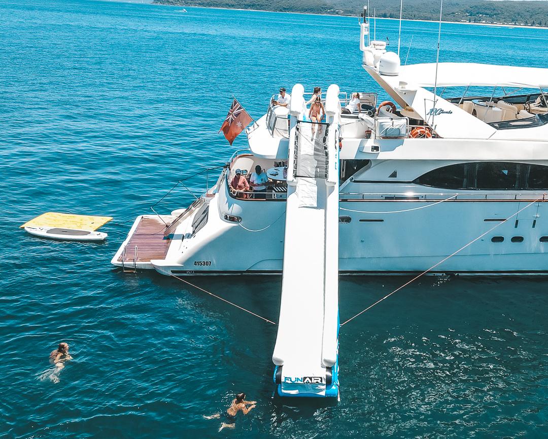 YOTSPACE - Superyacht Voyages - Lady Pamela