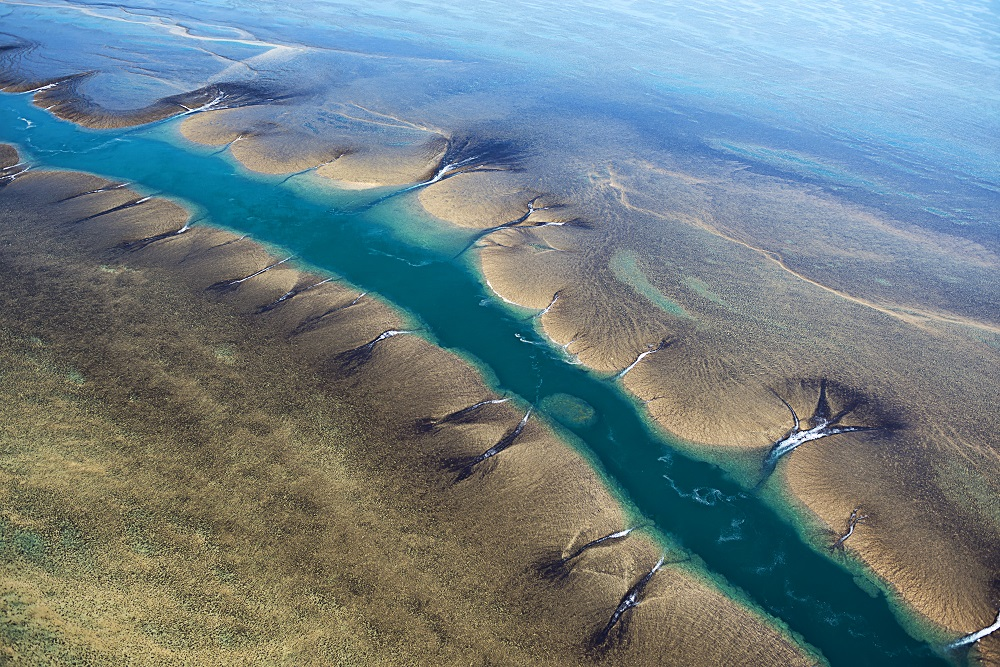 YOTSPACE superyacht voyages - Kimberley voyages - Montgomery Reef