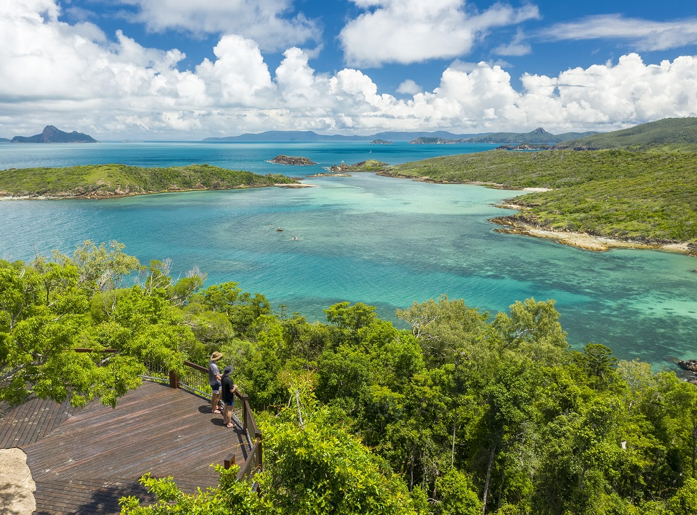 YOTSPACE superyacht voyages Great Barrier Reef - Whitehaven Lookouts