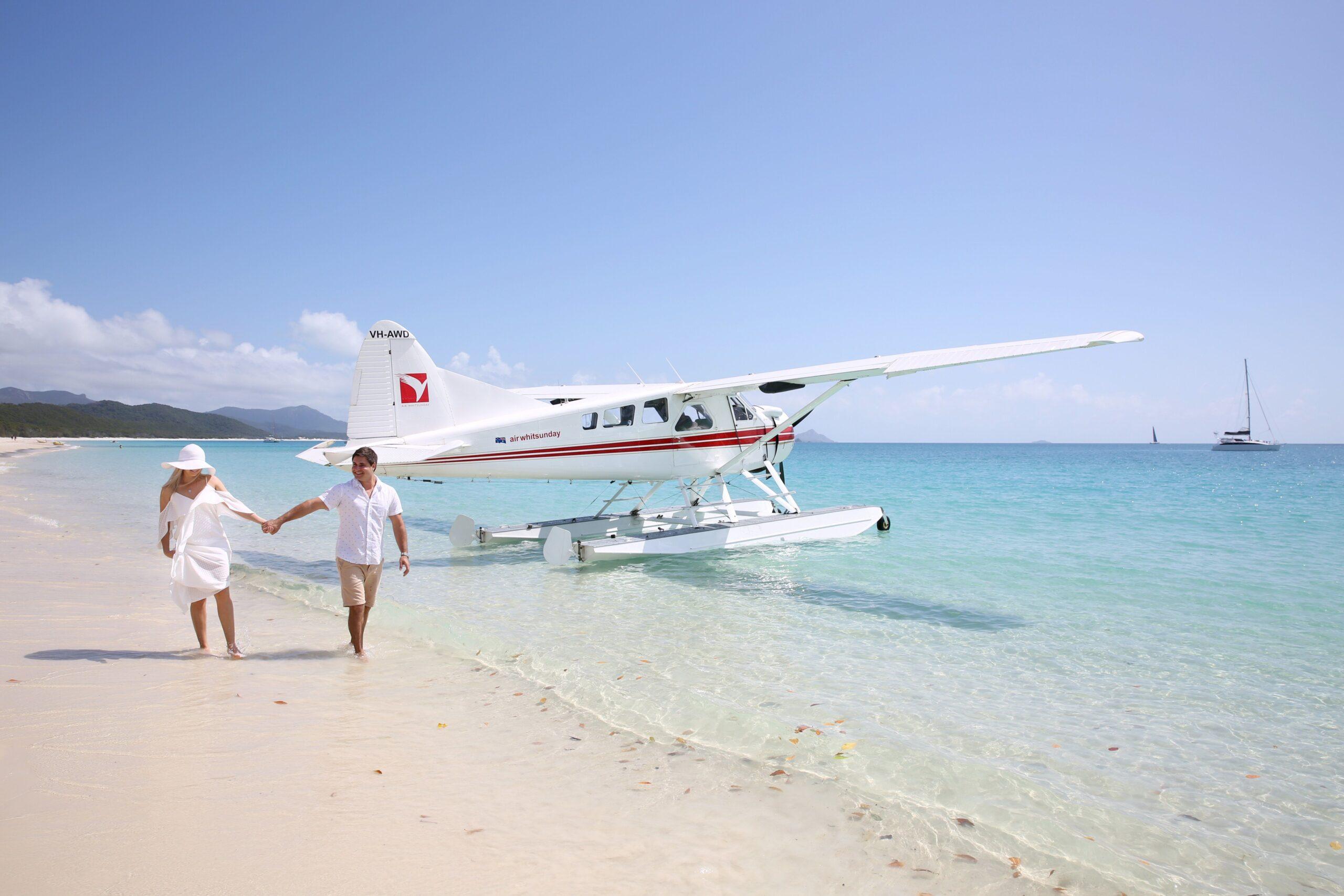 YOTSPACE superyacht voyages - Great Barrier Reef - Optional Seaplane Flights