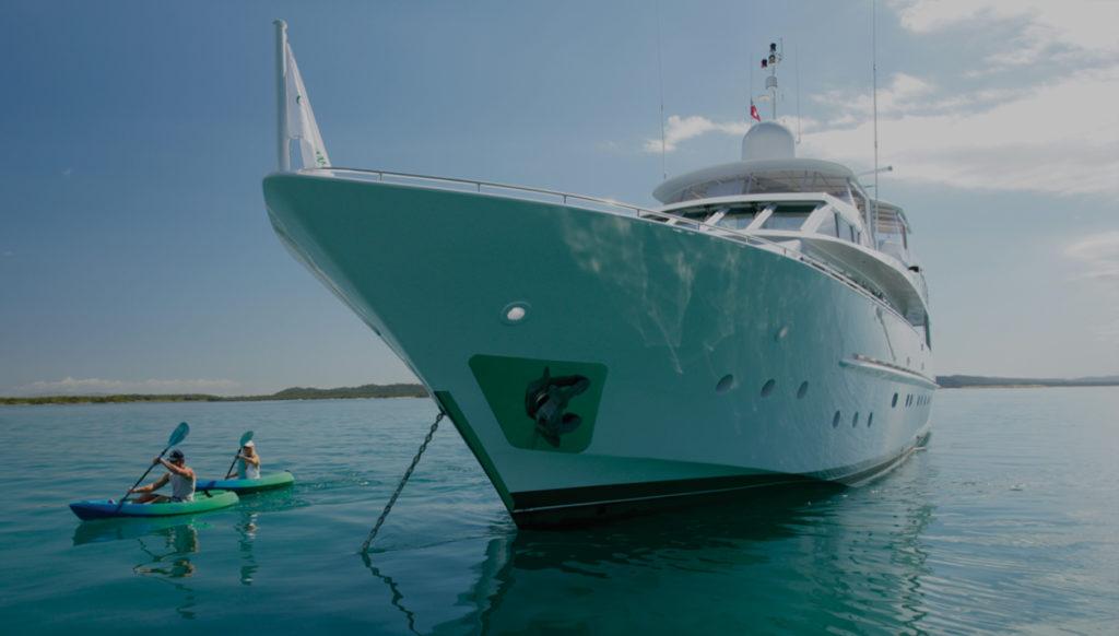 YOTSPACE Superyacht Holidays - Emerald Lady - Kayaking Great Barrier Reef
