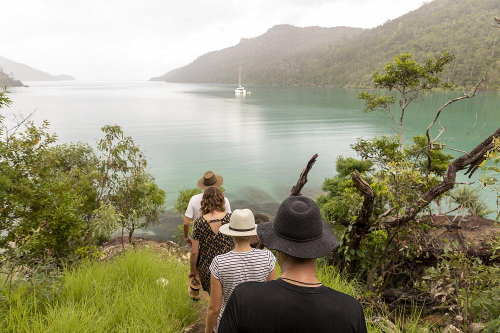 YOTSPACE superyacht voyages - Whitsundays - Nara Inlet Ngaro Cultural Site track
