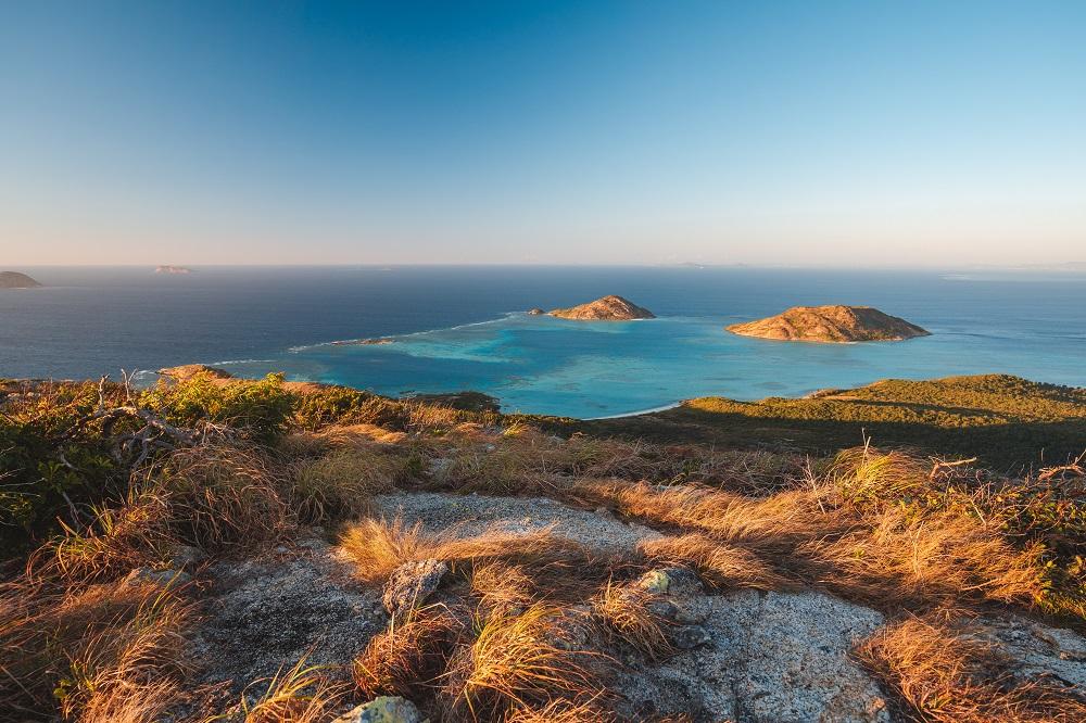 YOTSPACE superyacht voyages Great Barrier Reef - Cooks Look Walk - Lizard Island