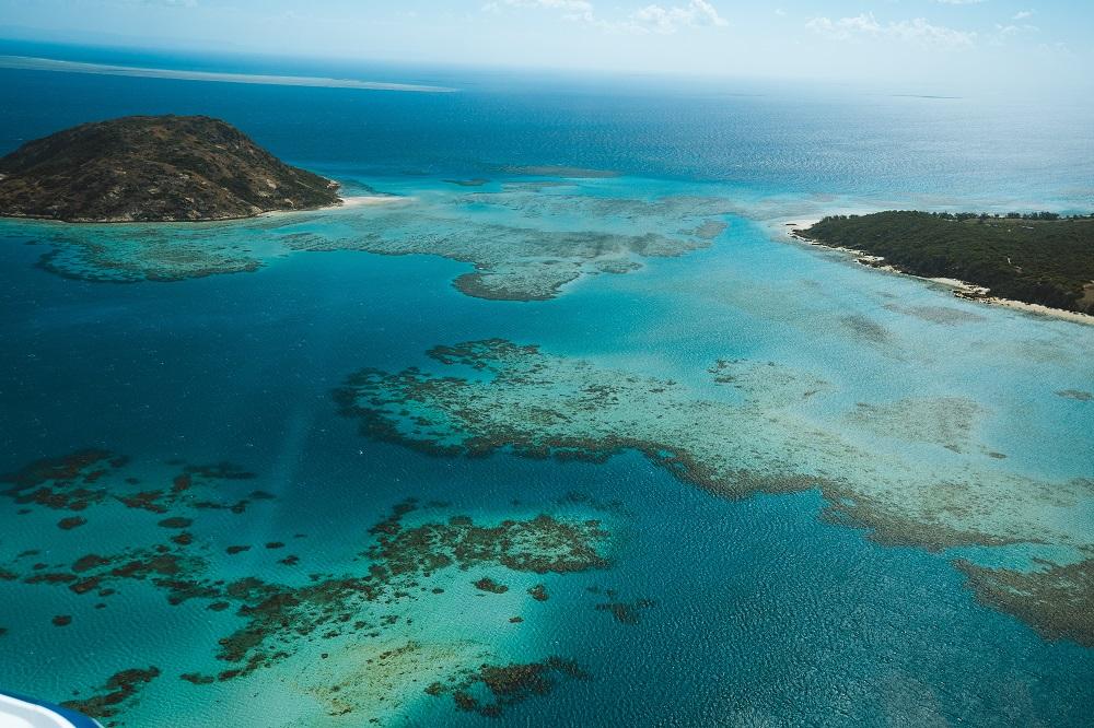YOTSPACE superyacht voyages - Lizard Island Aerial View - Great Barrier Reef